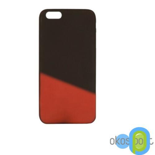Apple iPhone 7 szilikon tok, színváltós, barna