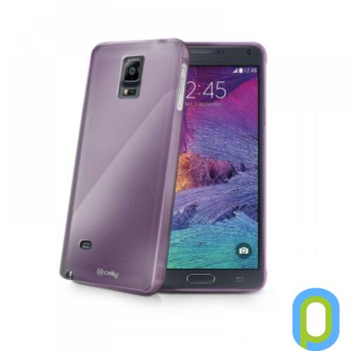 Samgung Galaxy S6 szilikon tok, Lila