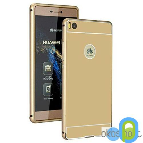 Huawei P8 Lite metal műanyag hátlap, Arany