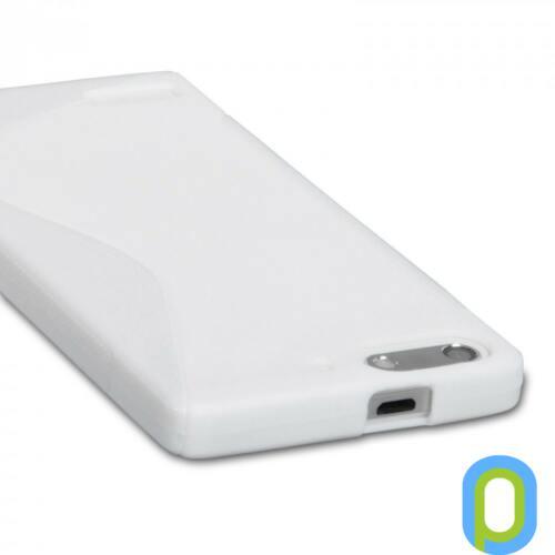 Huawei G6 szilikon tok, fehér