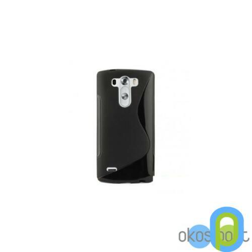 LG G3S szilikon tok, fekete