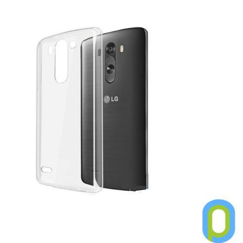 LG G3s szilikon tok, átlátszó
