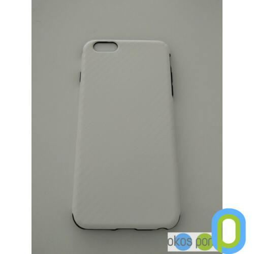 Apple iPhone 6/6s plus szilikon tok, fehér