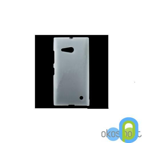 Nokia Lumia 730 szilikon tok, átlátszó