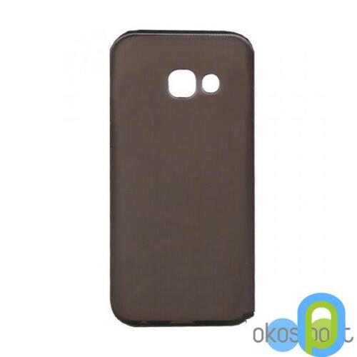 Samsung Galaxy A5 szilikon tok, füst színű
