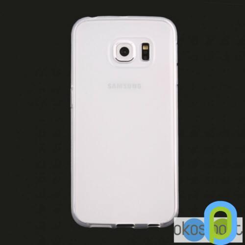 Samsung Galaxy S6 szilikon tok, fehér