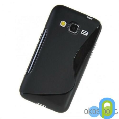 Samsung Galaxy Core Prime G360 szilikon tok, fekete