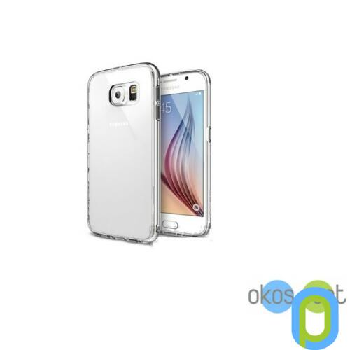Samsung Galaxy S6 szilikon tok, átlátszó
