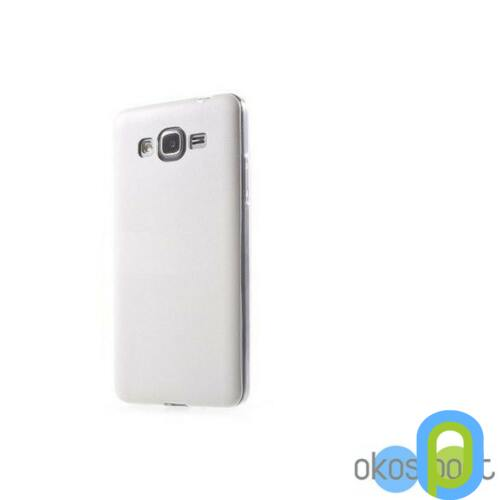 Samsung Galaxy Grand Prime szilikon tok, fehér