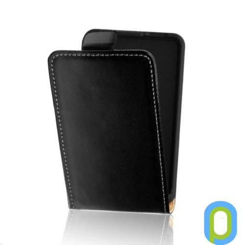 Samsung Galaxy Core Prime (2013) bőr flip tok, fekete