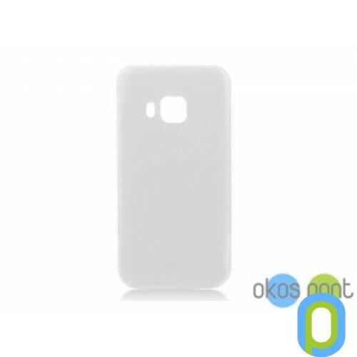 HTC One M9 szilikon tok, átlátszó
