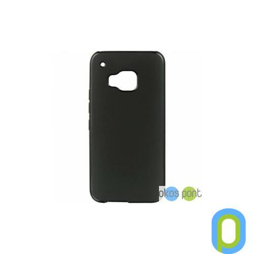 HTC One M9 szilikon tok, fekete