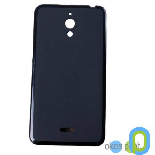 Alcatel Pixi 4 szilikon tok, fekete