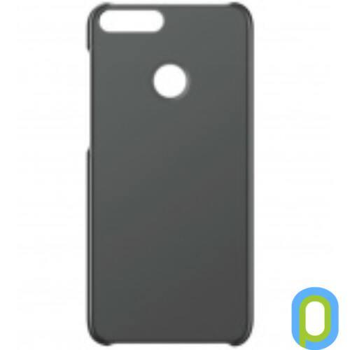 Huawei P-Smart műanyag hátlap, Fekete