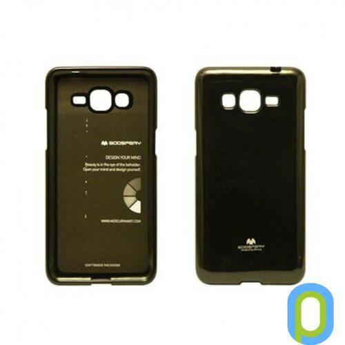 Samsung Galaxy S3 mini szilikon tok, zselés, fekete