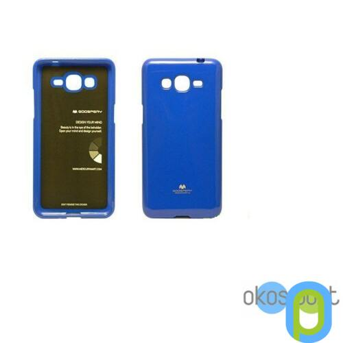 Samsung Galaxy S6 szilikon tok, zselés, kék
