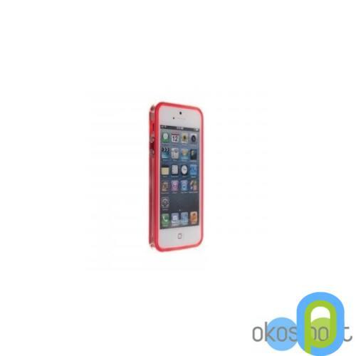 Bumper keret+fólia, Apple iPhone 5/5s/SE, pink