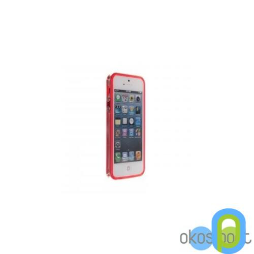 Apple iPhone 5/5s/SE Bumper keret+fólia, pink