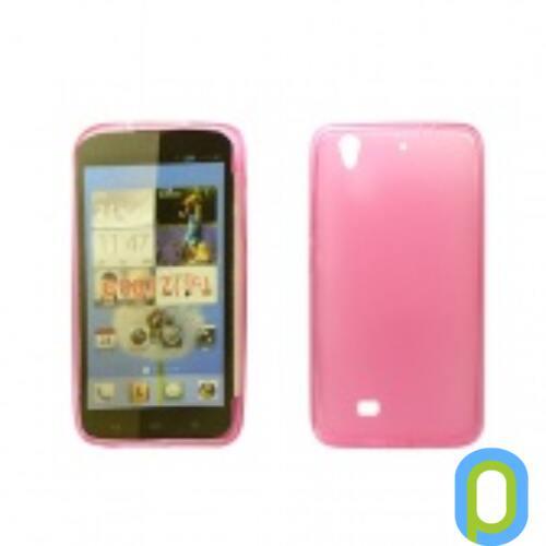 Huawei P8 Lite vékony szilikon hátlap,Pink