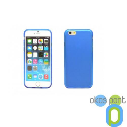 Apple iPhone 6 vékony TPU szilikon hátlap,kék