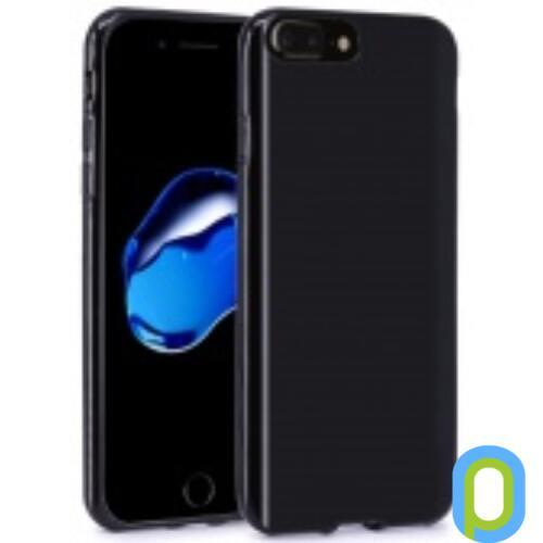 Apple iPhone 7 Plus vékony TPU szilikon hátlap,Fekete