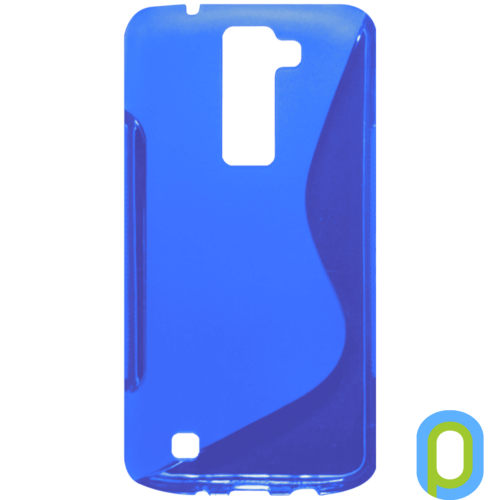 LG K8 vékony szilikon hátlap, kék