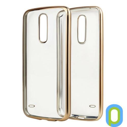 LG K10 ultravékony szilikon hátlap, átlátszó