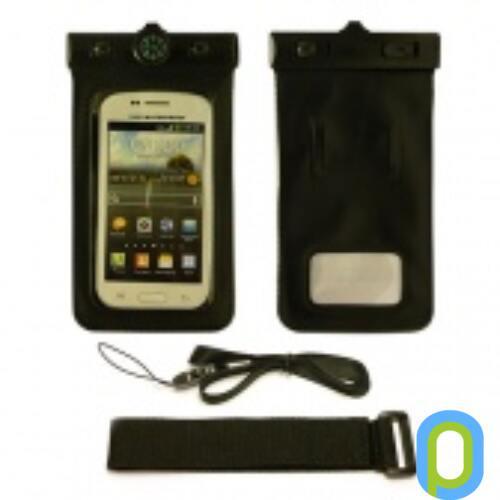 Vízálló telefon tartó, XXL-es méret,Fekete