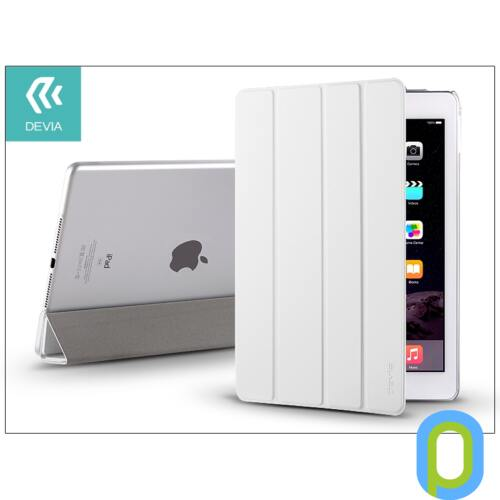 Apple iPad Air 2 védőtok (Smart Case) on/off funkcióval - Devia Basic - white