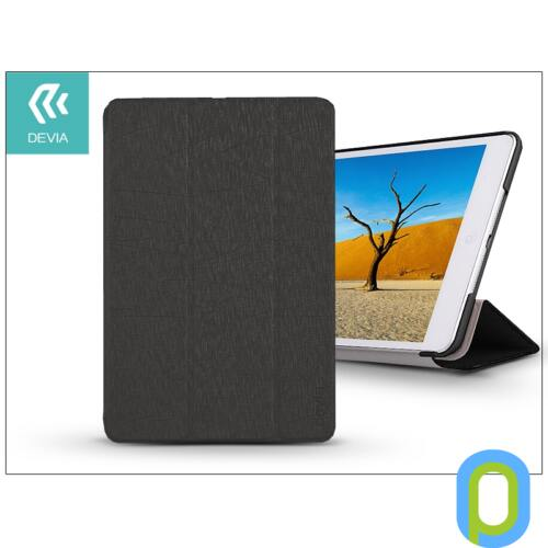 Apple iPad Mini 2/Mini 3 védőtok (Smart Case) on/off funkcióval - Devia Sleek Series - black