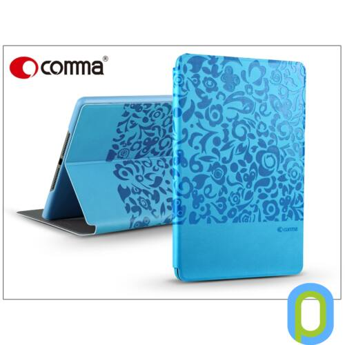Apple iPad Air 2 védőtok (Book Case) on/off funkcióval - Comma Charming - blue