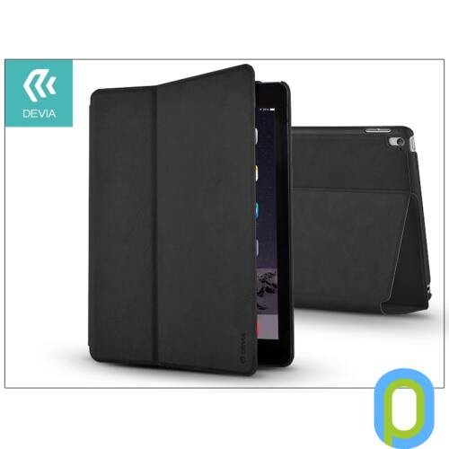 Apple iPad Air 2/iPad Pro 9.7 védőtok (Book Case) on/off funkcióval - Devia Elite - black