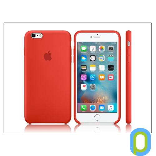Apple iPhone 6 Plus/6S Plus eredeti gyári szilikon hátlap - MKXM2ZM/A - red