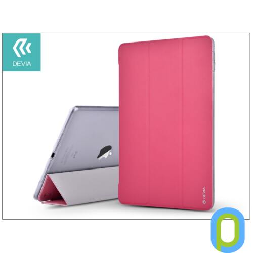 Apple iPad Air 2/iPad Pro 9.7 védőtok (Smart Case) on/off funkcióval - Devia Light Grace - rose red