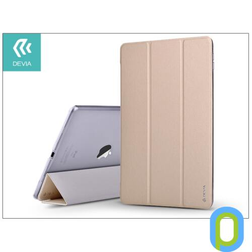 Apple iPad Air 2/iPad Pro 9.7 védőtok (Smart Case) on/off funkcióval - Devia Light Grace - champagne gold